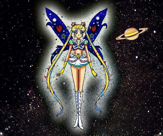 Photos: Selenit Saturn (Sailor Moon) The New Power - season 2...