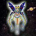 Selenit Saturn (Sailor Moon) The New Power - season 2...