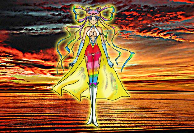 Selenit Saturn (Sailor Moon) The New Power - season 4...