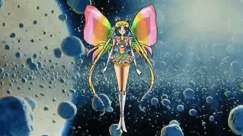 Selenit Saturn (Sailor Moon) The New Power - season 3....