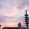 Photos: 台風前夜