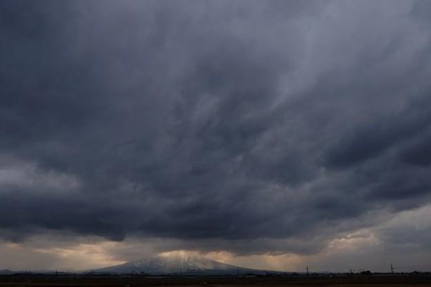 今日の岩木山~津軽富士