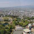 写真: 県庁32階から赤城山を望む