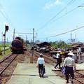 Photos: 上泉駅にて