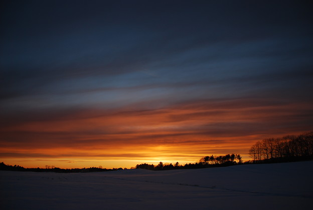 The Sunset at Durham Rd. 12-30-12