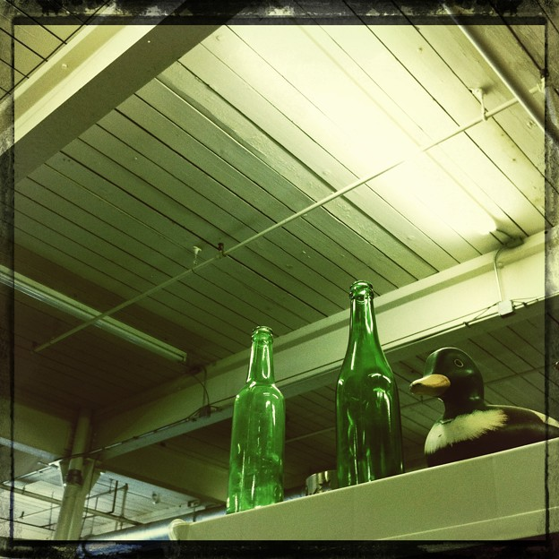 Two Green Bottles and a Duck 1-19-13