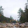 Lower Falls in Mist 10-12-13