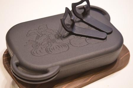南部鉄器・グリル用ベイクパン (2)