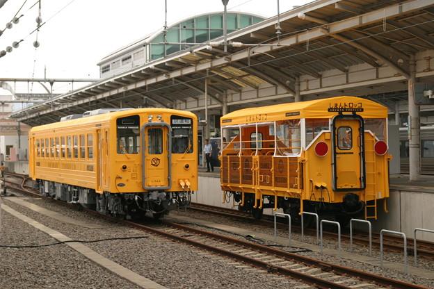 キハ32 しまんトロッコ・高松駅入換