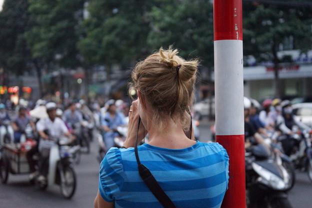 アジアの片隅で:カメラ女子