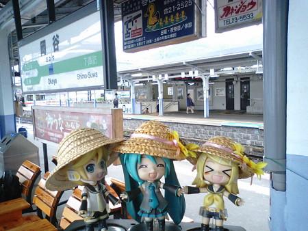岡谷駅に無事到着です(≧▽≦)ゞ ここで飯田線電車に乗り換えです。...