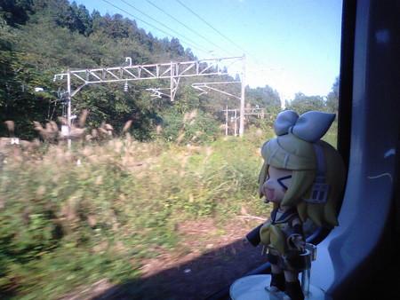 野辺地→北野辺地間。 リン:「青い森鉄道としばしの別れでーす」