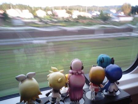 ミク:「長野で以前乗った『リゾートビューふるさと』の姉妹列車です...