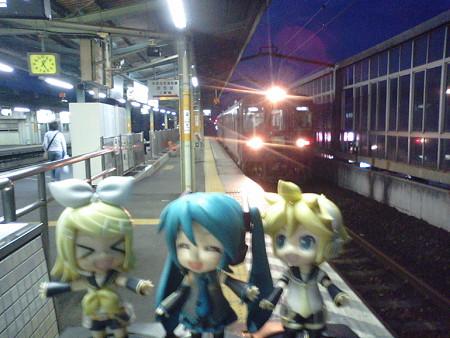 桐生駅に到着です。約20分待って、両毛線下りに乗り換えます。