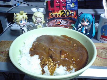 今夜の夕食は、「LEE×20」!! リン:「きゃゃゃ、めちゃ辛そぉーー!...