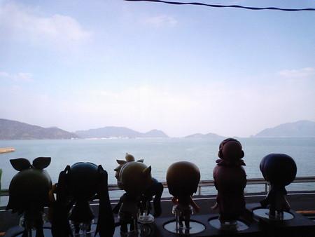 若狭本郷→加斗間。海側に向いて全員整列!!ww リン:「キャハハ...
