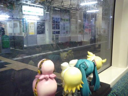 象潟駅に停車。