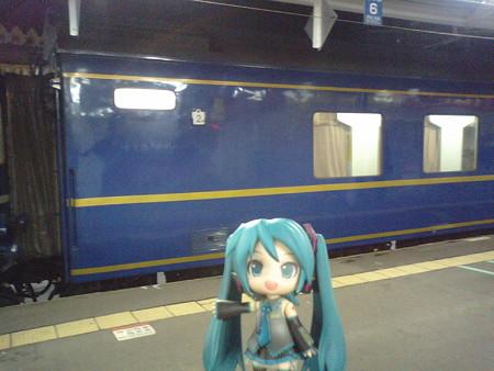 青森駅に無事定刻に到着! よっしゃ\(゜∀゜)/ 余裕で急行「はまな...