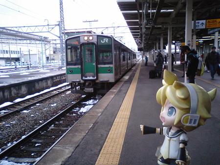 レン:「次は仙台行き、小牛田までワンマンの電車でーす」 ■一ノ関 1...
