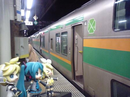 さて、いよいよ首都圏に帰ってきます。上野行き快速は、当然のように...