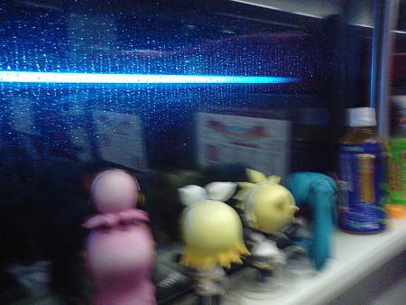 青函トンネル最深部を通過! リン:「今、海面下240mダヨー!」 レン:...