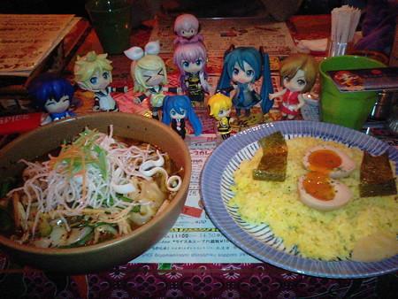 【チキン・虚空50】 トッピング: モモ、味ごっち。 ミク:「じゃあ、...