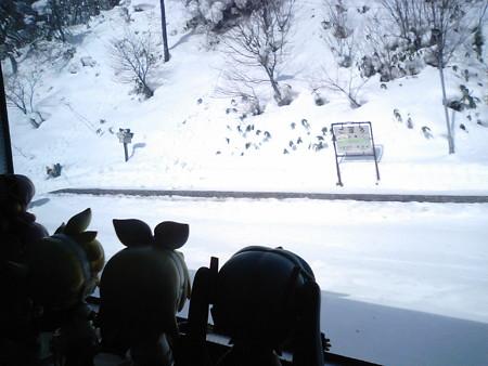 洞爺→長万部間、小幌駅付近。 ミク:「小幌仙人さんの思い出の駅で...