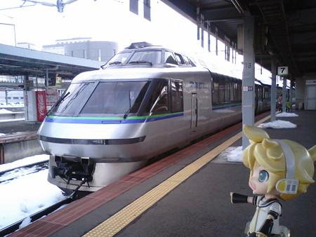 レン:「あ、これ、クリスタルエクスプレスだ♪」 札幌行き臨時特急...