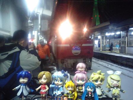 雪ミク:「では『あけぼの』で、一気に東京・上野まで参ります!」 リ...