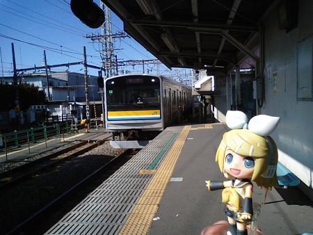 リン:「次は鶴見線の終点、扇町駅に向かいまぁーす♪」 ■武蔵白石 9...