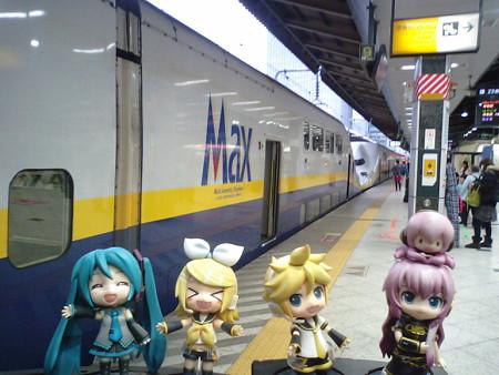 ■東京  8:04 → 熊谷  8:42   403C 「Maxたにがわ403号」