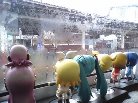 リン:「みんなの駅、皆野駅ー!!」