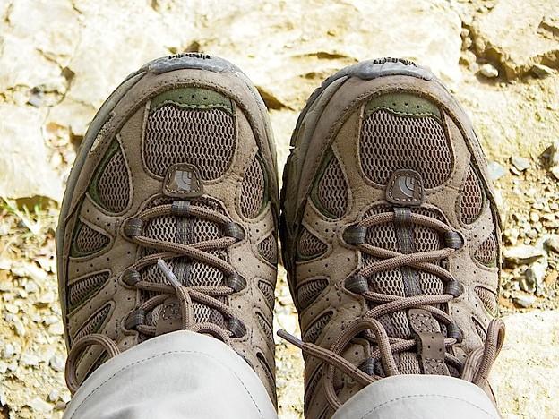 121022 1153 ノースフェース山靴