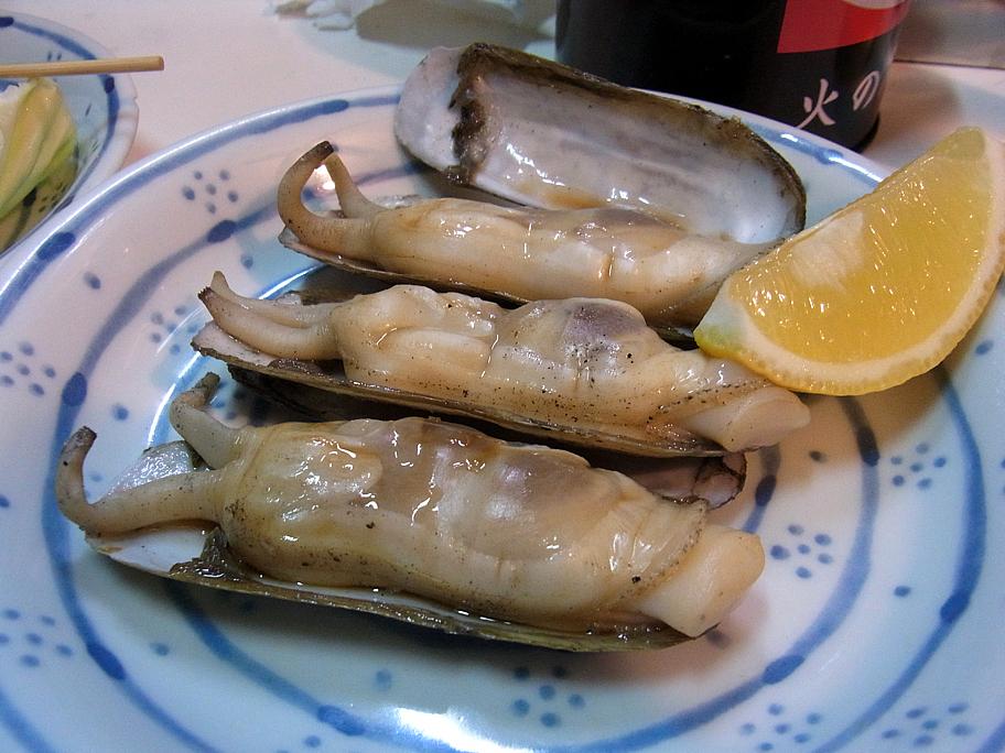 あげ巻き貝