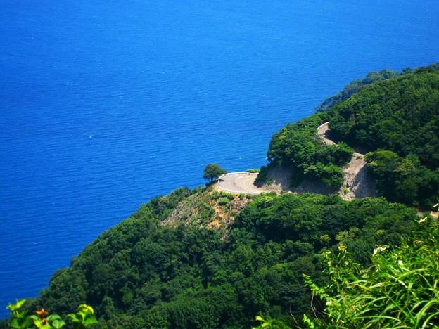 レインボーライン山頂公園からの景色