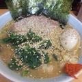 写真: #武蔵家 でニンニクタップリだこんにゃろ~! 絶対に風邪引きたくない...