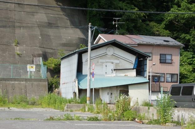 津波被害を受けた家
