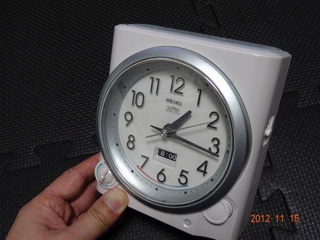 セイコー 電波置時計 KR319W