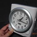 Photos: セイコー 電波置時計 KR319W