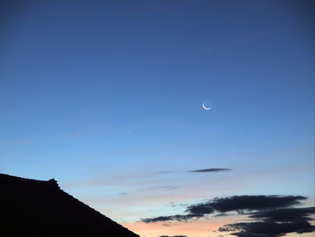 Photos: 水星と月_8867p