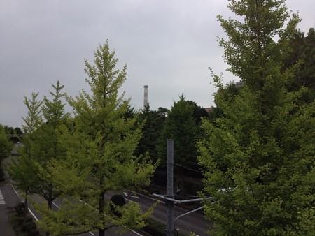 筑波研究学園都市 from キャンパス内歩道橋