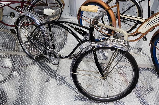 所さん自作の自転車