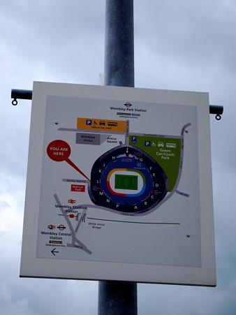 スタジアム地図