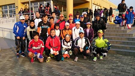 20140309さが桜マラソン試走会1