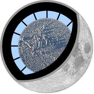 月ってこんな構造らしいwww
