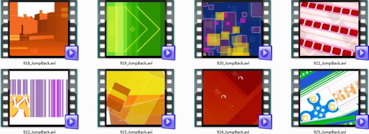 20个极品动态背景视频素材