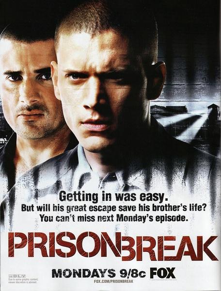 越狱.Prison Break 1-4季+最后一越 bdrip.1080p