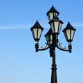 異国風街灯