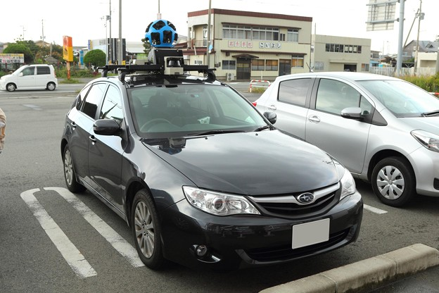 Googleストリートビュー撮影車.8