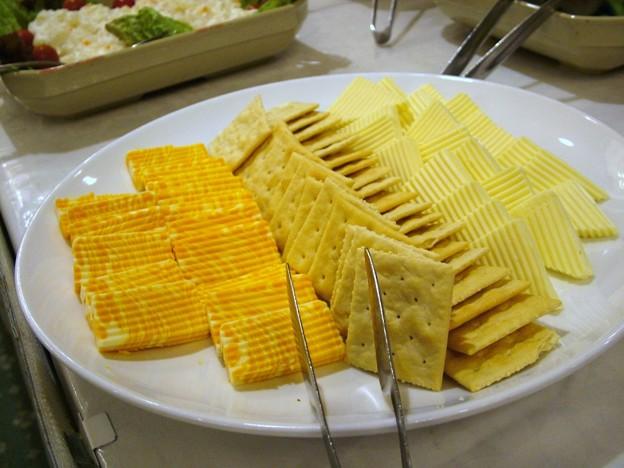 2013.04.26ビアダイニング・チーズとクラッカー